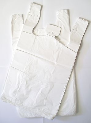 1250 Plastic Singlet Carry Shopping Bags -Small 200x420