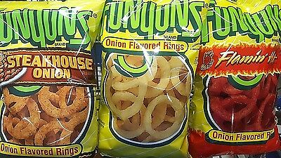 Funyuns Onion Flavored Rings Chips Choices Pick One