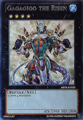 YU-GI-OH - ABYSS RISING - RARE CARDS - Singles + Playsets - TOP MINT - ENGLISH