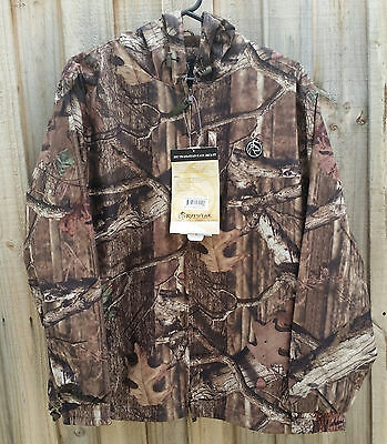 Rutwear Mossy Oak Camo WATERPROOF Hunting Jacket - MEDIUM