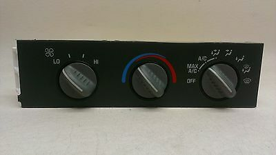 CHEVY / GMC VAN OEM Heater A/C Control Unit Temperature Climate Switch 99 01 02