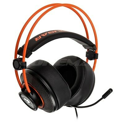 Cougar Immersa Gaming Headset Headphones Cuffie Audio Con Microfono Jack 3,5 Mm