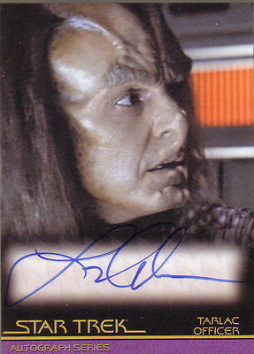 Star Trek Quotable Movies A86 Larry Anderson auto
