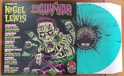 A TRIBUTE TO NIGEL LEWIS - THE GUV'NOR Green Splatter VINYL LP (NEW) PSYCHOBILLY