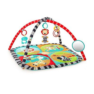 Bright Starts 52039 ROAMING SAFARI Activity Gym Spielbogen Krabbeldecke