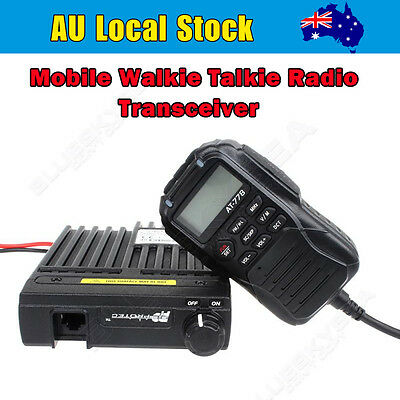 25W 512CH UHF Band 400-480MHz Vehicle Car Mobile 2-Way Radio Transceiver HOUA