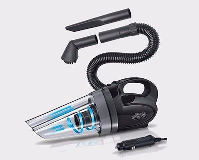 Portable Hand held Car Vacuum Cleaner charging by Cigar Adopter 12V 150W Hoover