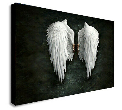 BANKSY ANGEL WINGS Canvas Wall Art Print. Various Sizes