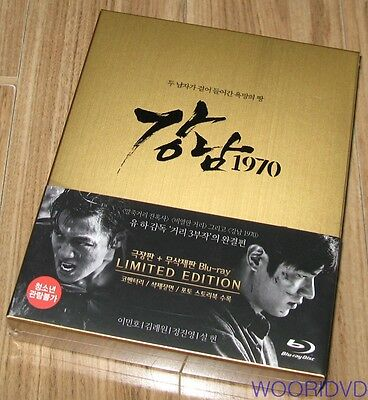 GANGNAM 1970 / Lee Min Ho / Kim Rae Won / BLU-RAY LIMITED EDITION SEALED