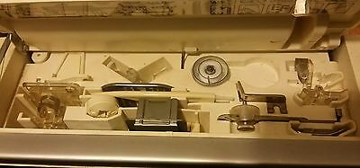 Singer Serenade 30 Electric 6235 Sewing Machine + accessories as shown.