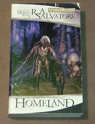 Homeland by R.A.Salvatore The Legend of Drizzt Book 1