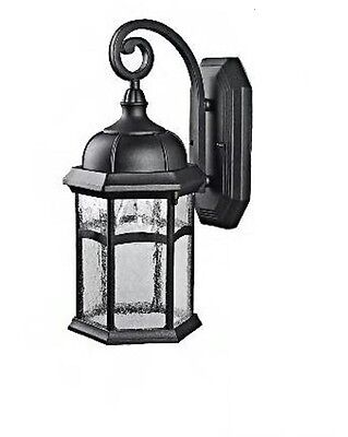 Black Outdoor Wall Lantern Exterior light fixture lighting fixture