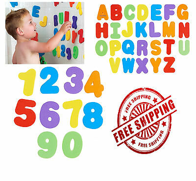 Kids Baby Learning Teaching Wooden Magnetic Letters Numbers Fridge Magnets