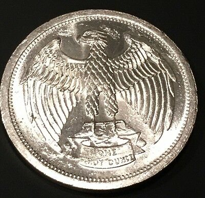 Continental Silver Corporation Vintage Coin 1 Troy Oz .999 Fine Silver Eagle 999