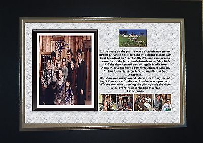 Little House On The Prairie Tv Classic Mounted Display