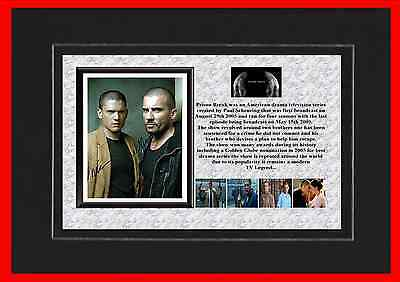 Prison Break Tv Mounted Display