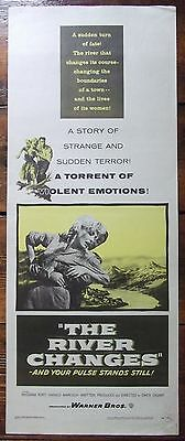 River Changes, Insert Movie Poster, Rossana Rory, Harald Maresch, '56