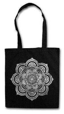 AMPLIFIED Totenkopf HOLY BUTTERFLY INDIAN SKULL Canvas Tasche Shopper ViP Bag