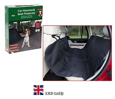 CAR HAMMOCK  SEAT PROTECTOR Safety Pet Dog Cat Mat Liner Rear Back Cover New UK