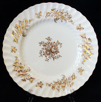4 x Minton Marlow Gold H5017 Dinner Plate