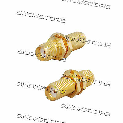 Adattatore Adapter Connettore Sma Jack To Sma Jack Female Coaxial Connector Rf
