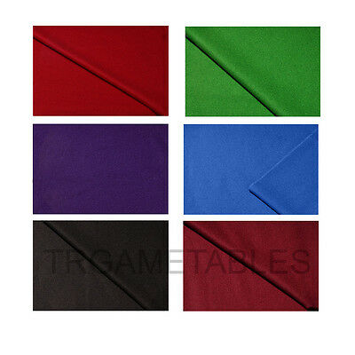 Double-sided Wool Pool Snooker Billiards Table Felt / Cloth for 9ft AU Post