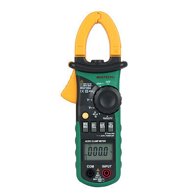 MASTECH MS2108A AC DC Current Clamp Meter Digital Multimeter SH