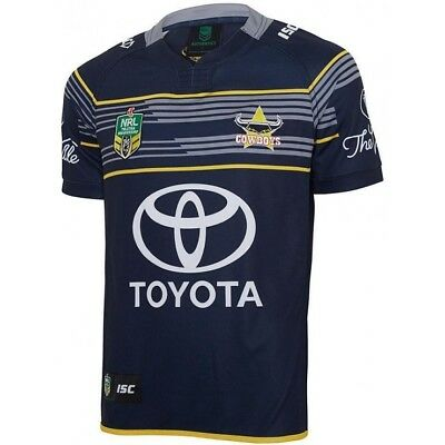North Queensland Cowboys 2017 NRL Home Jersey Adults, Ladies, Kids Toddler Sizes
