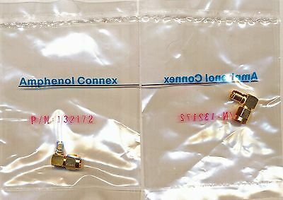 3 Right Angle Adapter Coaxial SMA Male Plug To SMA Female Socket 50 Ohm conn new
