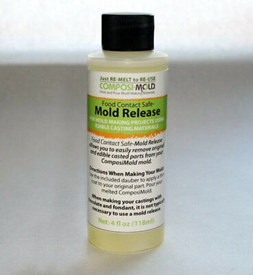 ComposiMold - Food Grade mould release. 4 oz 118 ml