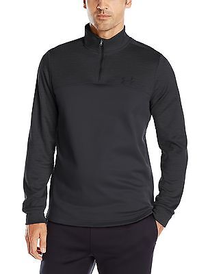 (TG. XL) Under Armour Af Icon-Pullover sportivo, con zip a 1/4, da uomo, colore: