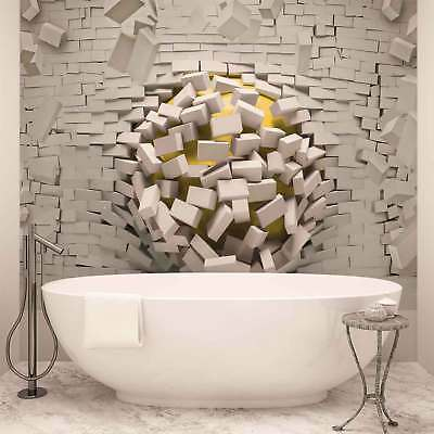WALL MURAL PHOTO WALLPAPER XXL Modern Abstract Brick Wall (3007WS)