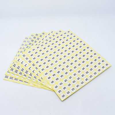 Diameter1.3cm Variety of Style White Kraft Paper Size Stickers Round Size Labels