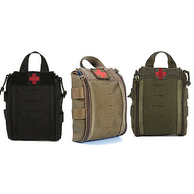 Tactical MOLLE EMT Medical First Aid Utility Pouch Camping Hiking Survival Gear