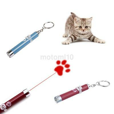 Interactive LED Pointer Cat Toy Chaser Best Ever Light Pet lieu of Laser Paw US