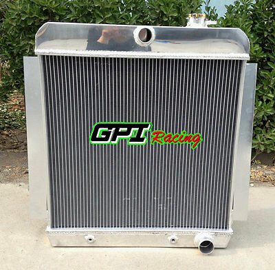 3Row Aluminum Radiator For 1955-1959 Chevy Pick Up Truck V8 55 56 57 58 59 At/mt
