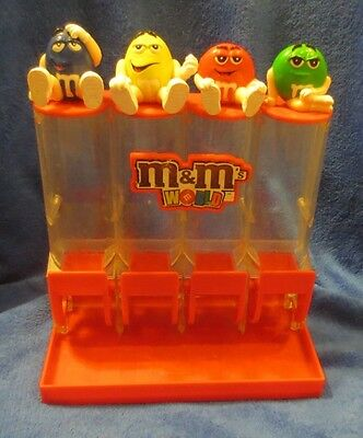 M&Ms 4 Tube Colorworks Candy Dispenser