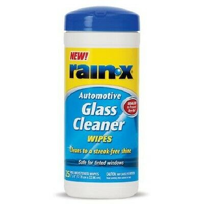 Rain X Automotive Glass Cleaner Wipes