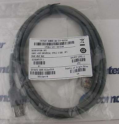 USB Cable 7ft 2M CBA-U01-S07ZAR for Symbol Barcode Scanner LS1203 LS2208 LS4208