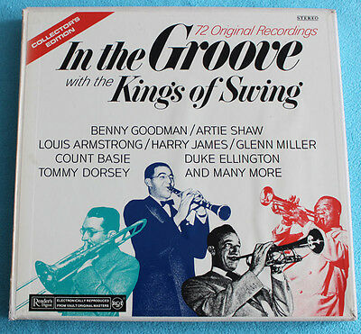 In The Groove with the Kings of Swing - RCA Swiss - + Inserts + all Inner Sleves