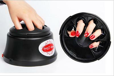 UV Gel Polish Remover Nail Cleaner Steam Off Gel Removal Machine Nail Beauty
