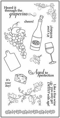 FISKARS Clear Stamps ***8236 AGED TO PERFECTION***