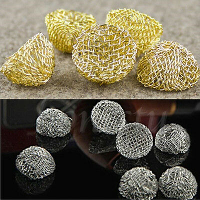 10-100Ppcs Tabacco Smoking Pipe Screen Filter Percolator Leach Net Balls Trendy