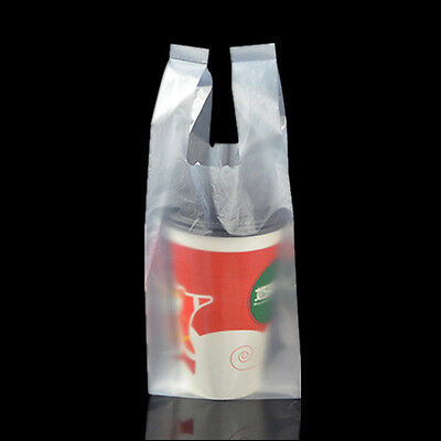 Variety of Style Single Cup Beverage Drink Carry Out Pack Pouch Bags