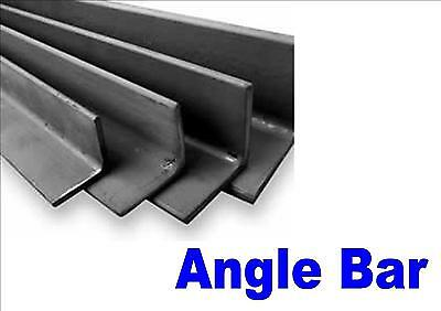 3mm Mild steel angle bar black finish various lengths 40mm x 40mm
