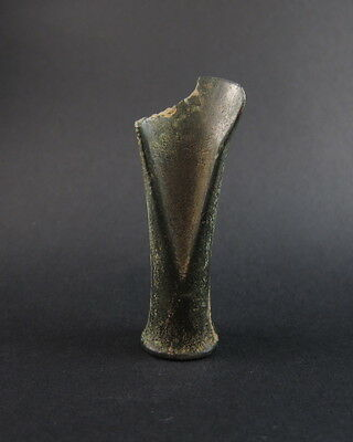 Superb Celtic bronze age socketed chisel Ex- McAlpine collection