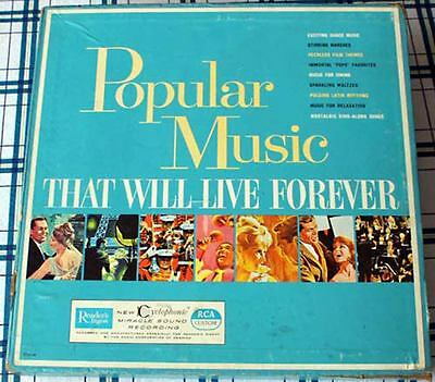 Popular Music that will Live Forever  10 LP Box + Inserts + all Inner Sleves
