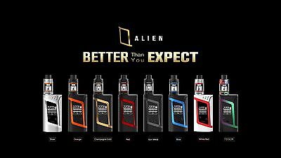 AUTHENTIC SMOK ALIEN KIT - 220W TC MOD - TFV8 BABY TANK - UK SELLER - Buy Now!!!