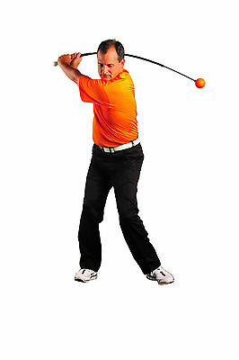 "Orange Whip Trainer - #1 Golf Training Aid 47.5""- Free Shipping!"