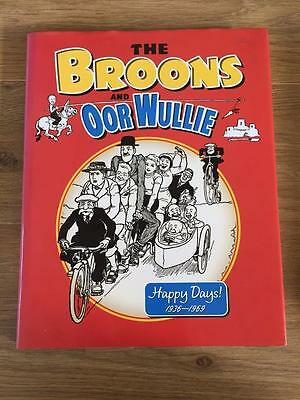 The Broons And Oor Wullie Hardback Annual - Happy Days 1936-1969